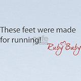 Baby running Baby Hats