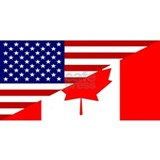Canadian american T-shirts