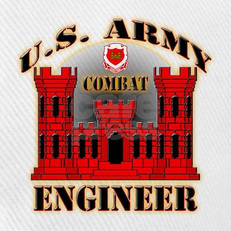 Us army combat engineer baseball cap by veteranstshirts for Combat engineer tattoo