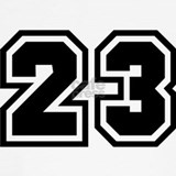 Basketball jersey number 23 Underwear