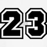 Basketball jersey number 23 Underwear