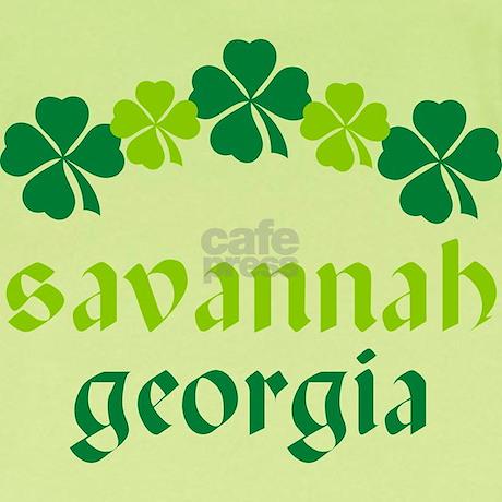 Savannah Georgia Irish Infant T Shirt by hometownshirt