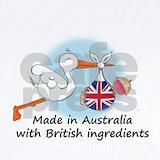British australian Baby Bodysuits