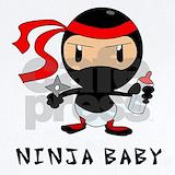 Ninja Baby Bodysuits