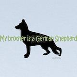 German shepherd dog Baby Hats