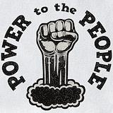 Black power Bib