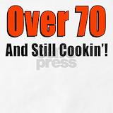70th birthday aprons Aprons