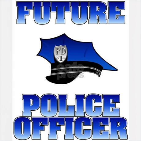 Future Police Officer Hoodie by policeshop Futuristic Police Officer