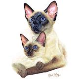 Siamese cat Pajamas & Loungewear