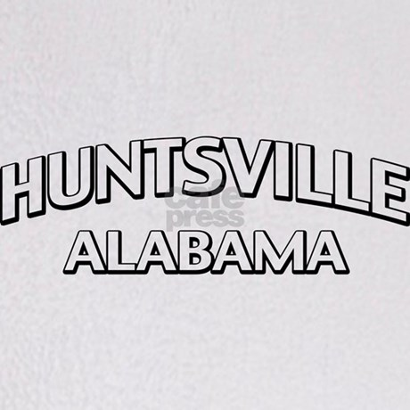 Huntsville Alabama Throw Blanket by zpatcp