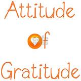 Attitude of gratitude Wall Decals