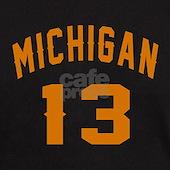 Michigan 13 Birthday Designs T Shirt