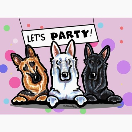 German Shepherd Greeting Cards – German Shepherd Birthday Cards