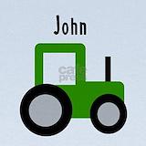 John tractor Baby Hats