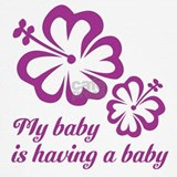 Pregnant daughter Tank Tops
