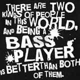 Bass player Sweatshirts & Hoodies