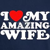 Amazing wife T-shirts