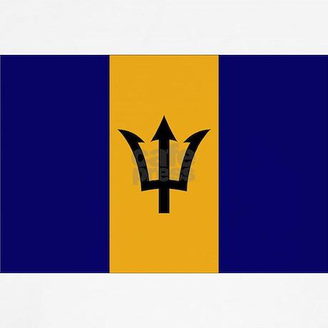Barbados flag dog for Barbados flag coloring page