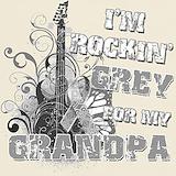 Rockin grey for grandpa T-shirts