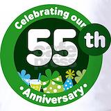 55 year anniversary Polos