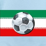 Iran football Baby Bodysuits