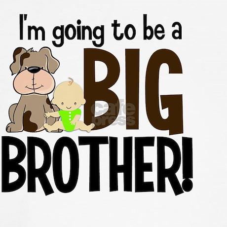 Big Brother Dog Shirt Canada