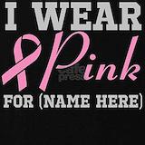 I wear pink T-shirts