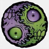 Yin yang zombies Sweatshirts & Hoodies