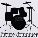 Future drummer Baby Bodysuits
