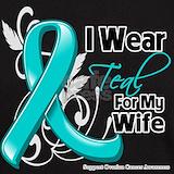 Ovarian cancer awareness T-shirts