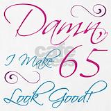 65th birthday Aprons