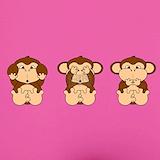 No evil monkeys Underwear & Panties