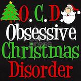 Obsessive christmas disorder T-shirts