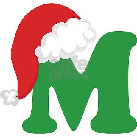 Traditional Christmas Letter Printable M 2