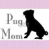 Black pug Pajamas & Loungewear