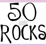50 rocks birthday Pajamas & Loungewear