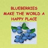 Blueberries Baby Hats