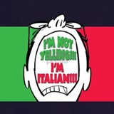 Italian flag Aprons