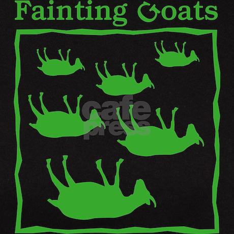 Fainting Goats Tee By JellyBrainJamboree