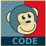 Code monkey Tank Tops