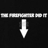 Funny firefighter Maternity