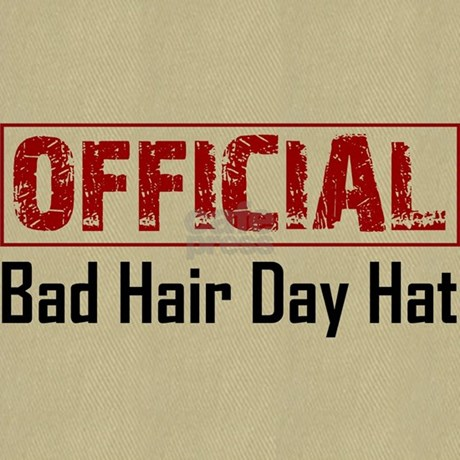 official bad hair day hat baseball cap by elegantmischief