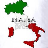 Italy flag Polos