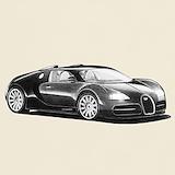 Bugatti veyron T-shirts
