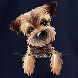 Border terrier Sweatshirts & Hoodies