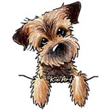 Border terrier T-shirts