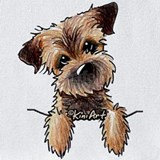 Border terrier Bib