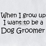 Dog groomer when i grow up Bib