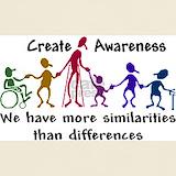 Disability awareness T-shirts
