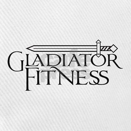 Gladiator Fitness Logo Baseball Cap by GladiatorFitness